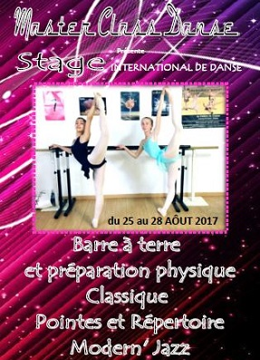 Stage International Danse 2017