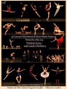 Concours Master Danza 2019