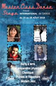 Stage international danse 2018