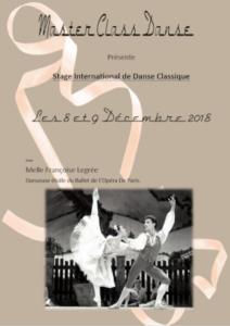 Stage Danse Classique 2018