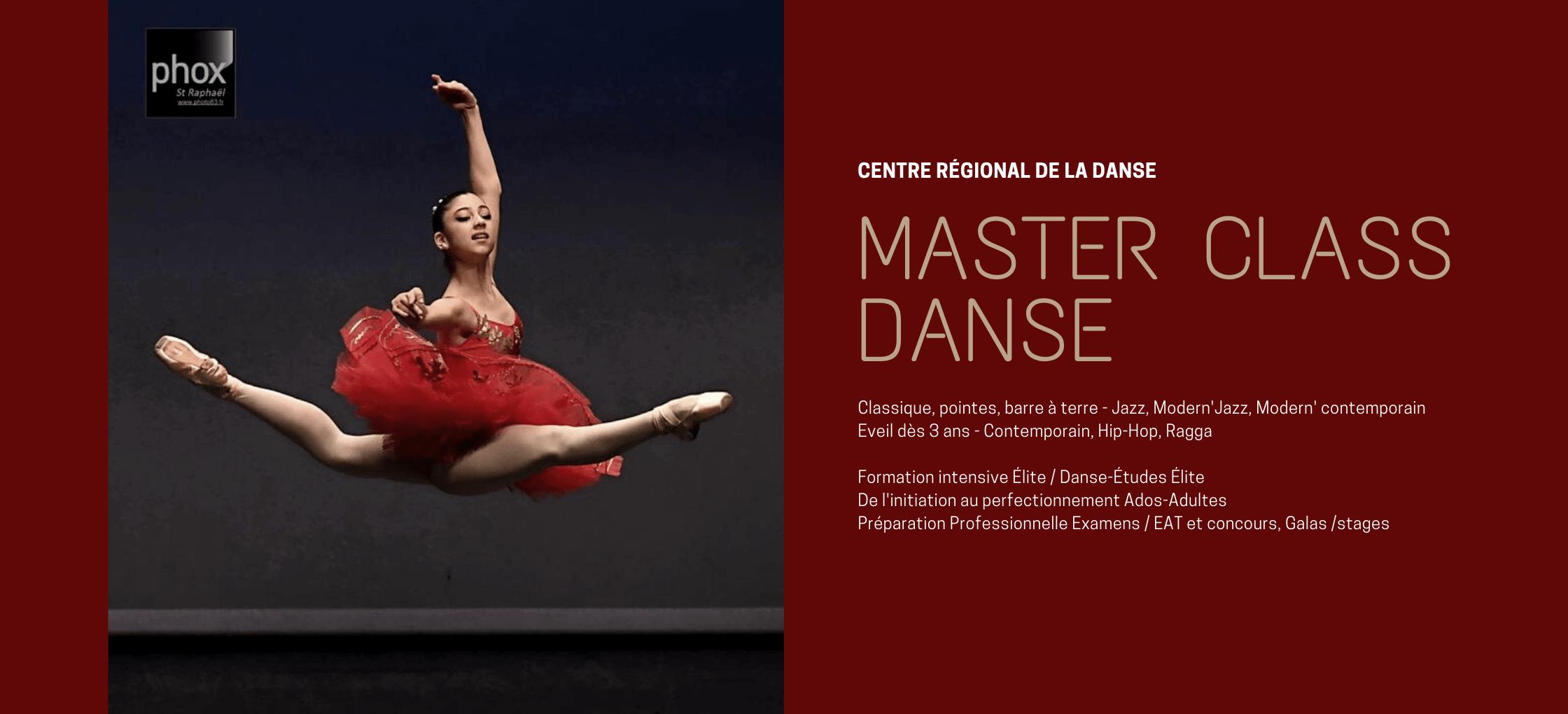 Master Class Danse bannière